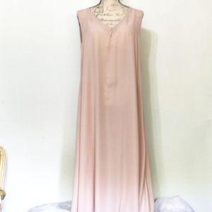 NWT dusty pink maxi dress.